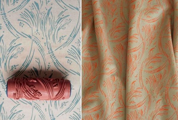Patterned paint roller: креативные валики с выпуклым узором