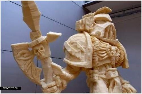 Скульптуры из строительной пены