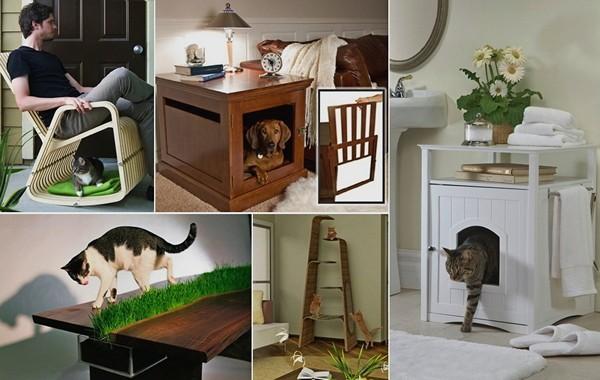 Обзор дизайнерской мебели для домашних животных