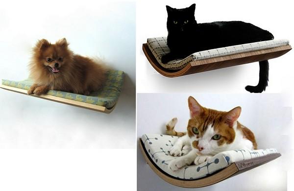 Для кошек оригинальные полочки для