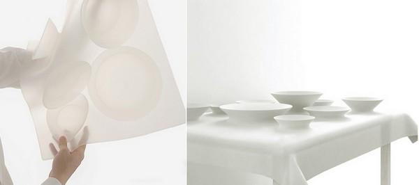 Table dish cover, силиконовая скатерть-самобранка