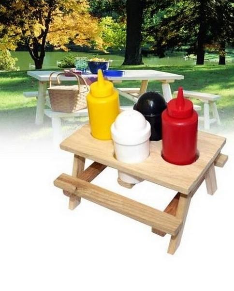 Мини-столик для бутылочек с приправами