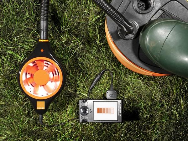 Беспроводная зарядка-насос Orange Power Pump