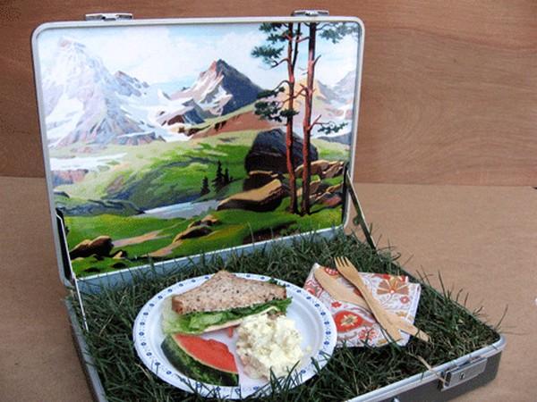Picnic in a Suitcase, или пикник в чемодане