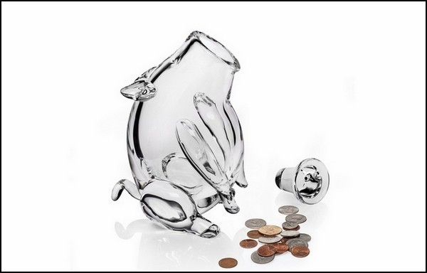 Хрустальная свинья-копилка Piggy Bank от Гарри Аллена (Harry Allen)