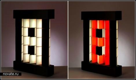 Проект Mobil pixel lamp дизайнера Istvаn Kulinyi