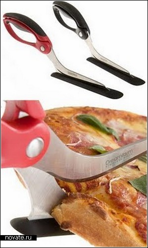 Обзор креативных пиццерезок