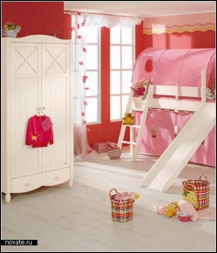 Детские спальни-*игральни* с мебелью от Paidi