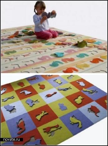 Серия игровых-обучающих ковриков Pastylki carpet