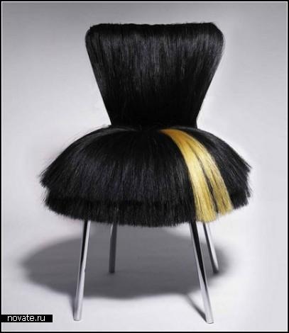 Стулья с прическами. Коллекция мебели от Деджэны Кэбилджо (Dejana Kabiljo)