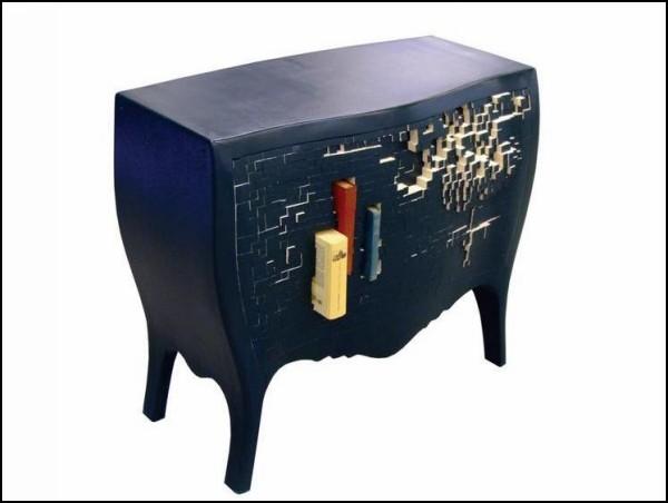 Push And Store Cabinet, тумбочка для *распихивания* вещей