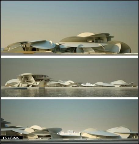 Проект National Museum of Qatar. Архитектор - Жан Нувель (Jean Nouvel)