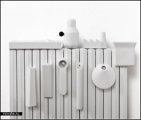 Керамический обогреватель Radiator Humidifier с *увлажнителями* воздуха в комплекте