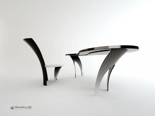 Designer Sessel Wamhouse Banane