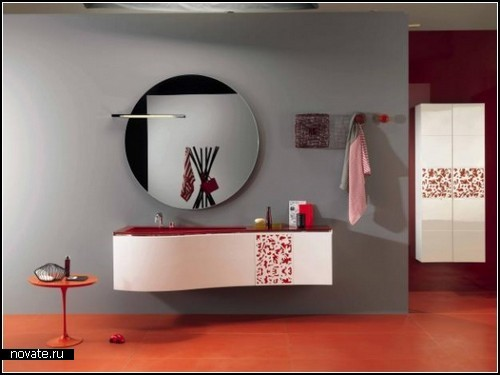Стеклянные ванные от Regia