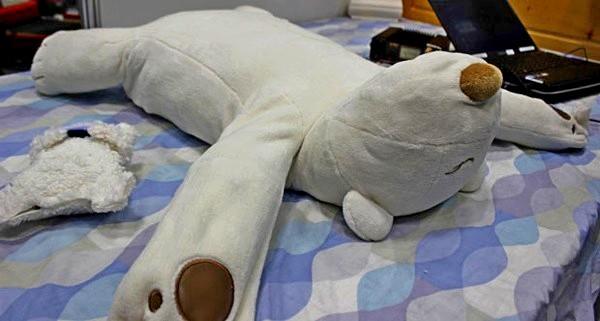 Jusui-Kun, роботизированная подушка-медведь для борьбы с храпом
