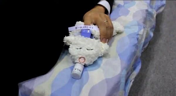 Робот, отслеживающий уровень кислорода в крови