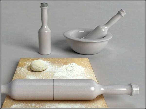 Удобный и полезный дизайн: кухонный ролик Roll & Mix