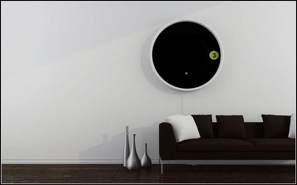 The Saturn Clock. *Космические* часы от сербского дизайнера