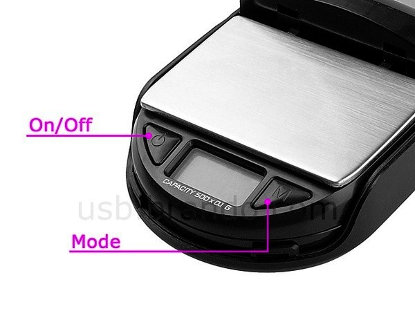 USB-мышка со встроенными весами от Brando