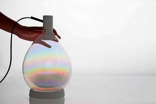 Scent of Light: изящные лампы-флакончики