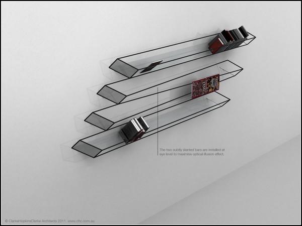Иллюзии в дизайне мебели от Джона Ленга (John Leung)