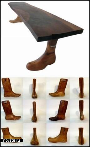 Мебель с *обутыми* ножками. Проект Dressler Brothers