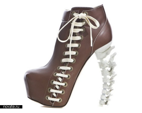 Костлявые туфли Skeletal Stilettos