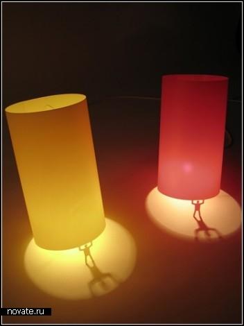 Светильник *Костлявый Джимм* от Джона Кэсвелла (John Caswell)