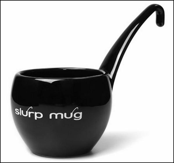 Slurp Mug, оригинальная кружка-*хлебательница*