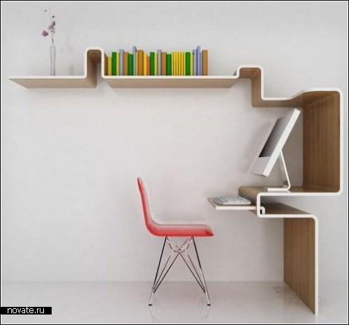 Мини-офис K Workstation от MisoSoup Design