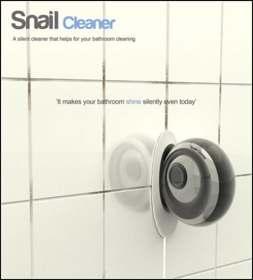 Snail Cleaner. Улитка на солнечной энергии