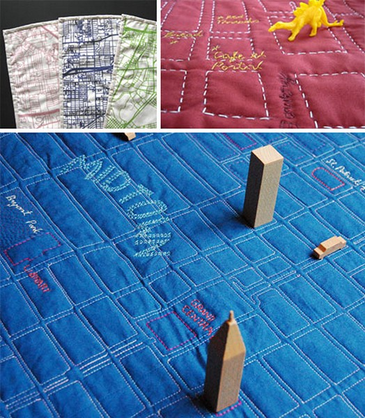 И коврик, и карта местности. Проект Soft Maps от Haptic Lab