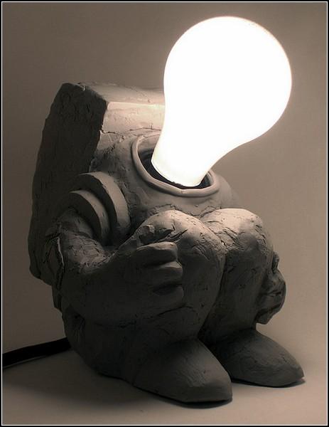 Светильник-космонавт Spaceman Lamp