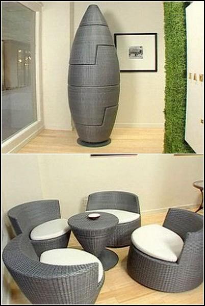 Взрослая мебель-конструктор 'Ракета'