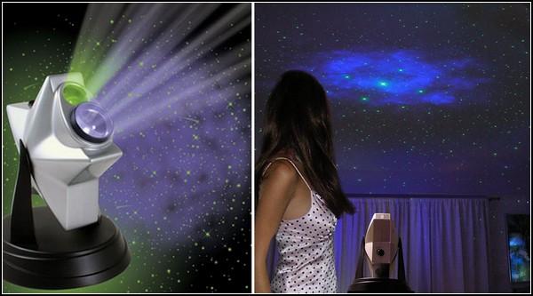 Laser Stars Projector в действии
