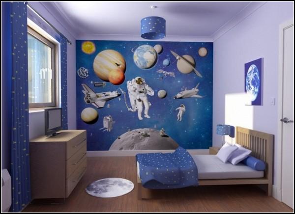 Космические детские спальни