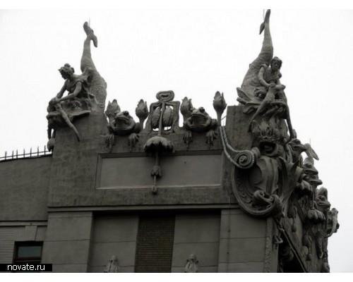 Киевский *Дом с химерами*, шедевр архитектора Городецкого