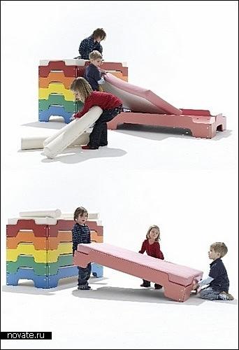 Stackable Beds - модульная мебель для взрослых и детских спален