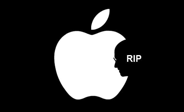 Обзор интересных решений в стиле логотипа Apple. Посвящается Стиву Джобсу