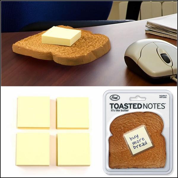Стикеры в виде тоста