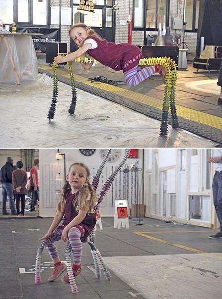 One by One, дизайнерские стулья, которые понравятся детям