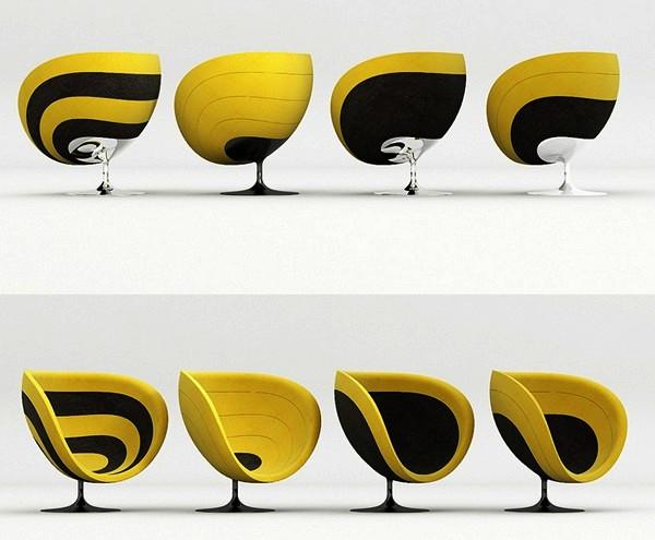 ROSA chair: звукопоглощающее кресло от Studio KMJ