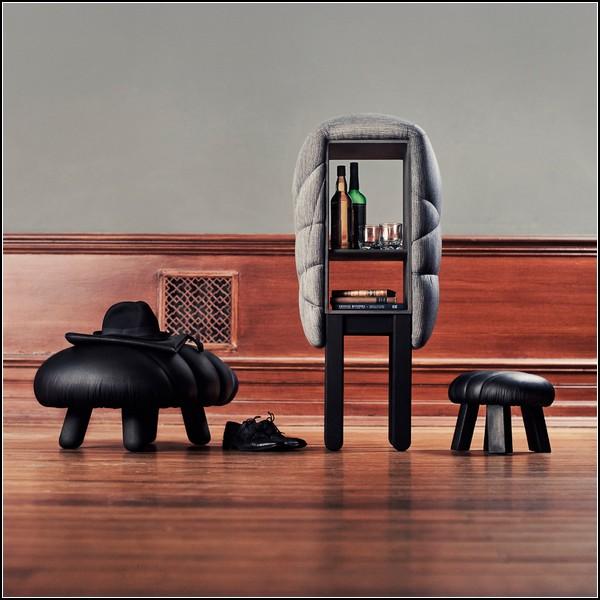 Оригинальная кожаная мебель от Фредрика Фарга (Fredrik Fаrg)