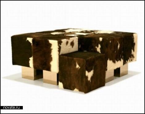 Гармоничная система сидений Sync, состоящая из кубиков