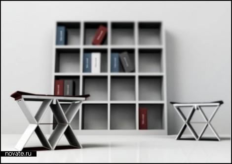 Стул-книга Take a seat для библиотек будущего
