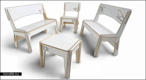 Мебель The Link, - взрослый конструктор для детей