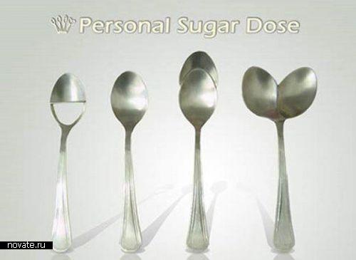 Порционные ложки для сахара