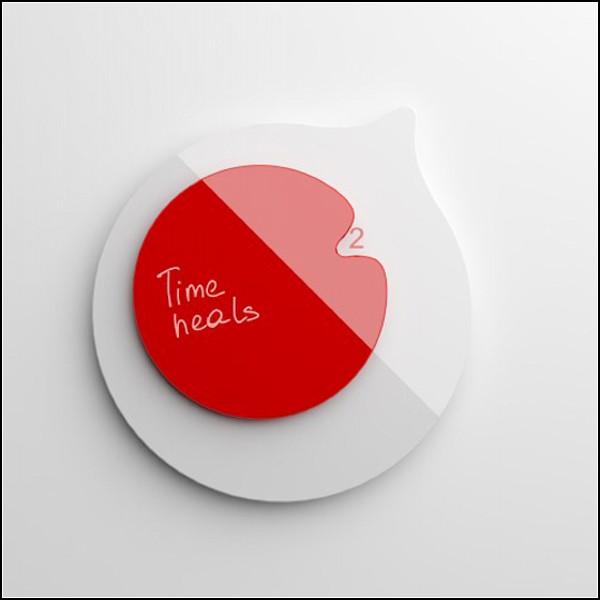 Время лечит. Арт-часы от Анны Мариненко для сочувствующих Японии