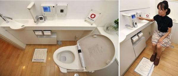 Японский туалет-медлаборатория